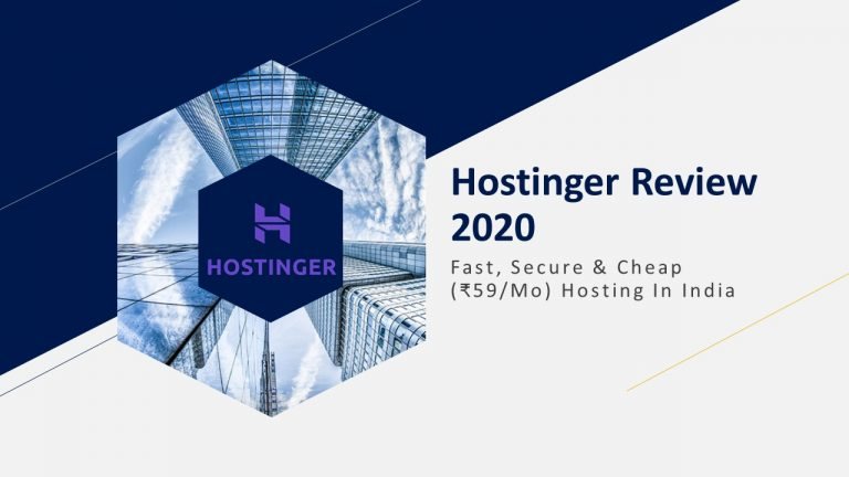 Hostinger Review 2020