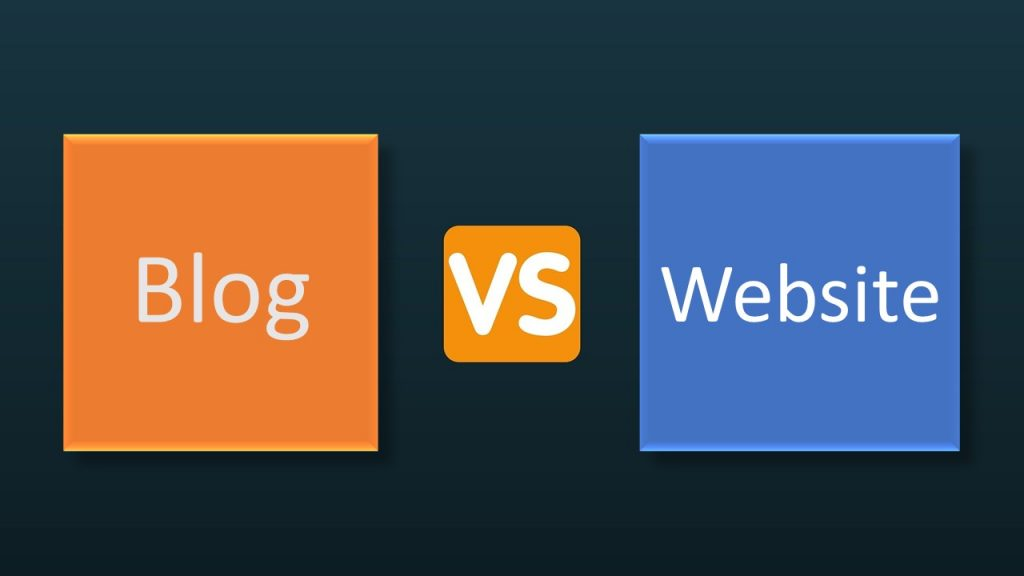 What Is The Difference Between Blogs And Websites
