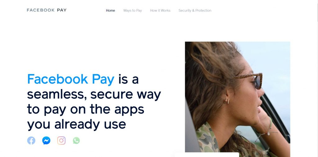 Facebook Pay - Best Paypal Alternative India