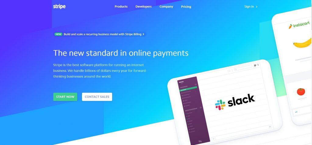 Stripe - Best Paypal Alternative