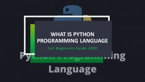 What is Python in Hindi? – Full Beginners Guide 2021