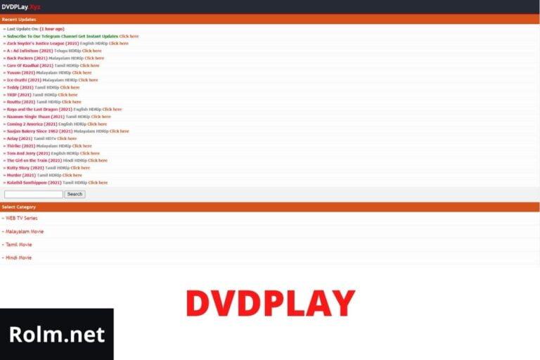 DVDPlay 2021 – Free Download Malayalam, Bollywood, Hollywood