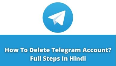 How To Delete Telegram Account?   Full Steps In Hindi