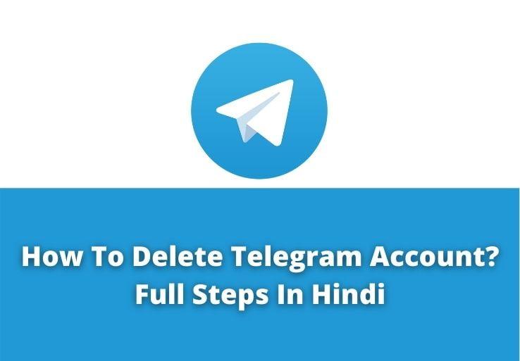 How To Delete Telegram Account?