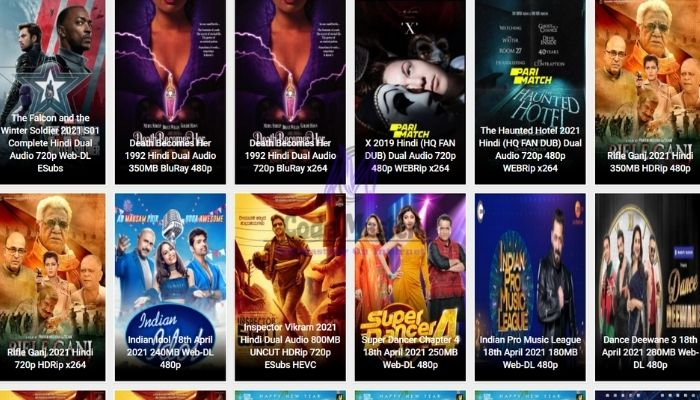 DownloadHub 2021 - Free Download 300MB Dual Audio Bollywood Movies