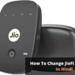 How To Change JioFi Password?