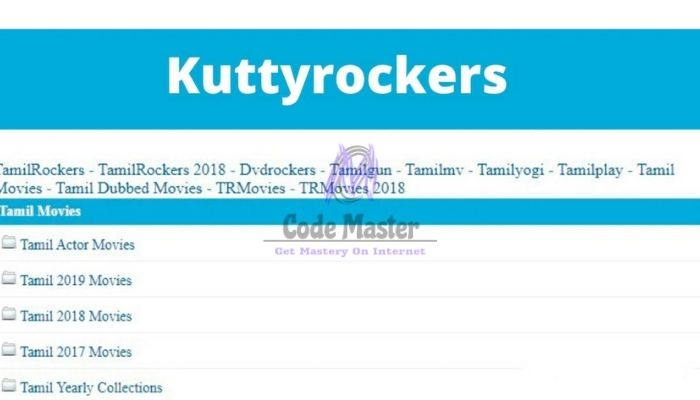 KuttyRockers 2021 - Download Latest Bollywood Tamil Dubbed Movies