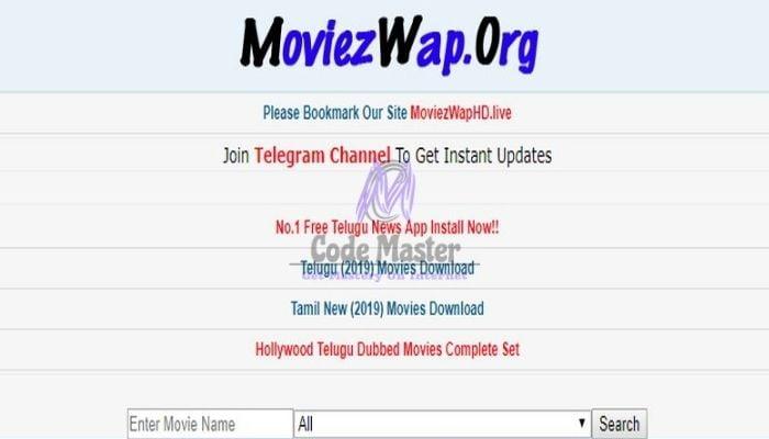 MoviezWap 2021 - Free Download Tamil, Telugu New Full Movies HD Mp4