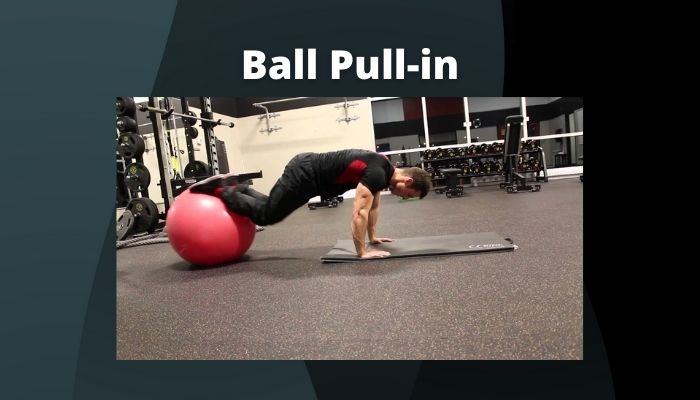 Ball Pull-in Exercise to make six pack abs without gym in Hindi