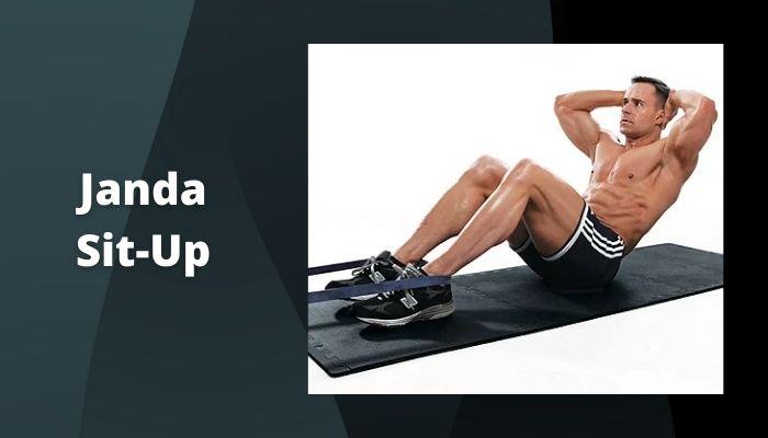 Janda Sit-Up Workout to make a six-pack without a gym