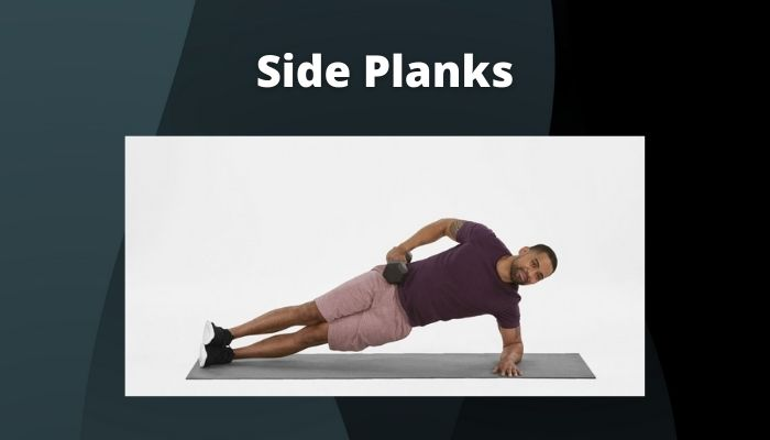 Side Planks to make six-pack abs at home